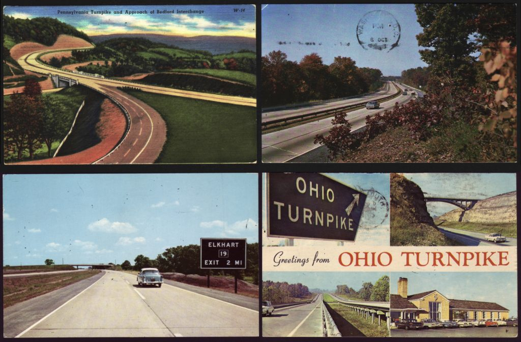 Postcards of highways